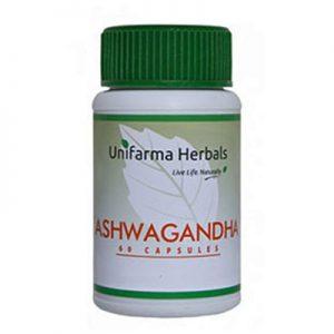 Unifarma Herbals ashwagandha-capsules