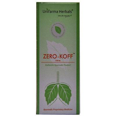 Unifarma Herbals zero-koff- Cough Syrup 100ml